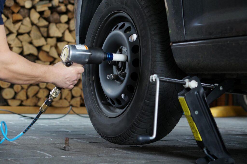 Schritt 2: Reifen wechseln