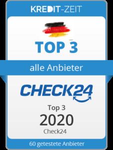 TOP 3 aller Anbieter: Check24