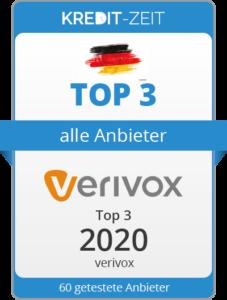 TOP 3 aller Anbieter: Verivox