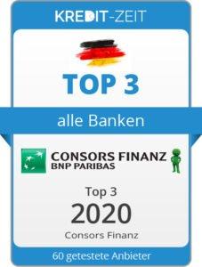 TOP 3 aller Banken. Consors Finanz