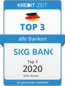 TOP 3 aller Banken: SKG Bank